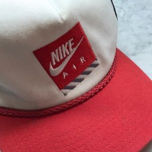 Nike Accessories - Vintage Nike Air Retro Snap Back Mesh Hat